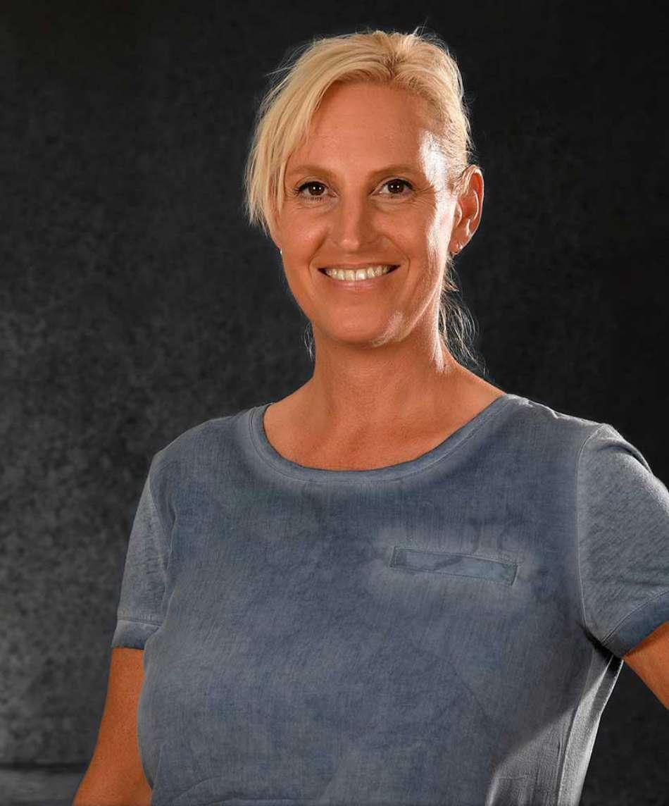 Trainerin Anja